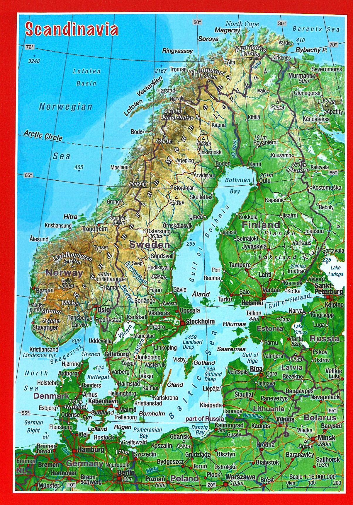 3d Terrain Map Of Uk.Craenen Georelief