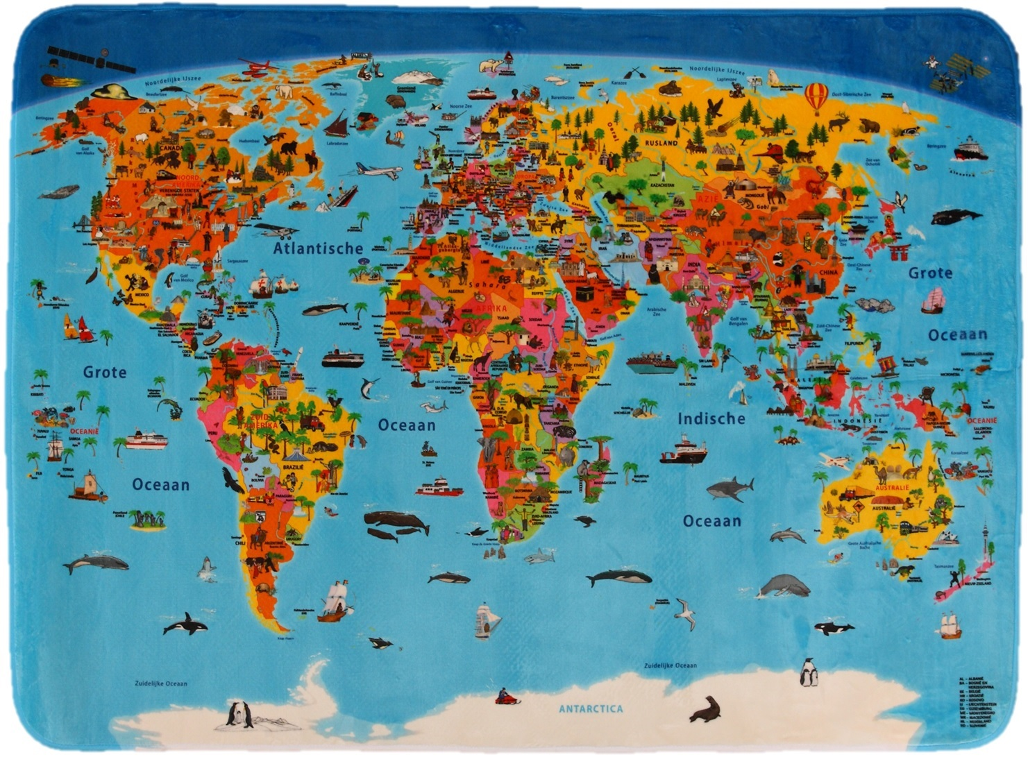 tapijt wereld craenen