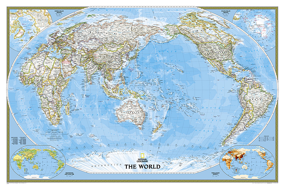 Craenen national geographic flat maps world political pacific centeredclassic gumiabroncs Gallery