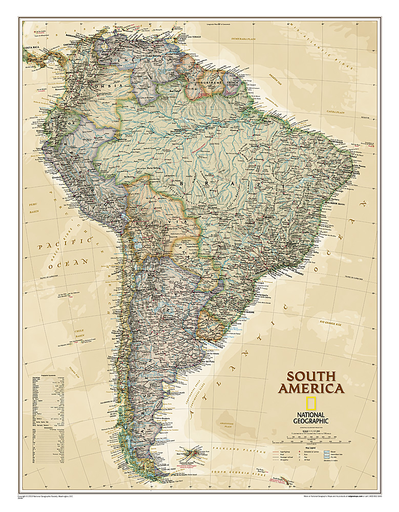 Craenen: National Geographic Flat Maps