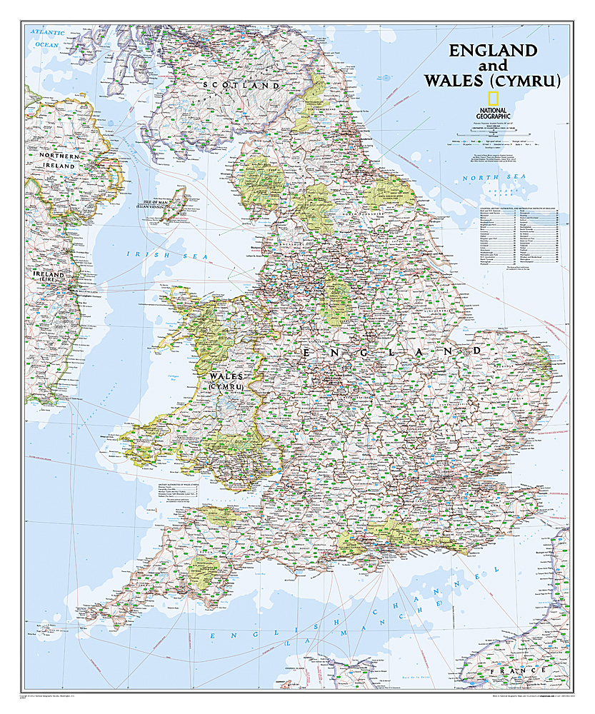 Craenen national geographic flat maps england and wales gumiabroncs Images