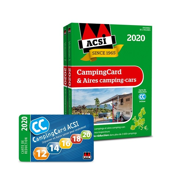 CampingCard & Aires campings guide et carte