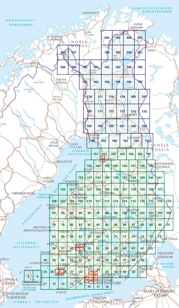 Craenen Karttakeskus Finland