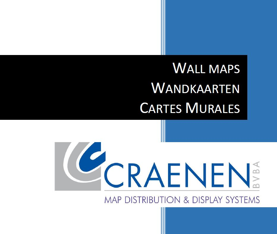Wall maps Catalogue