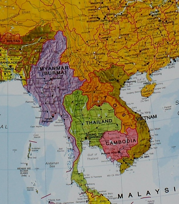 Craenen Maps Int Asia 11M – Map of the World in Detail