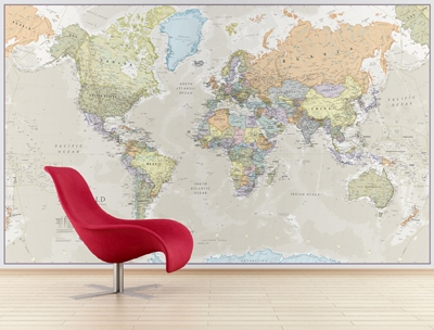 Craenen maps int specials world map mural classic gumiabroncs Image collections