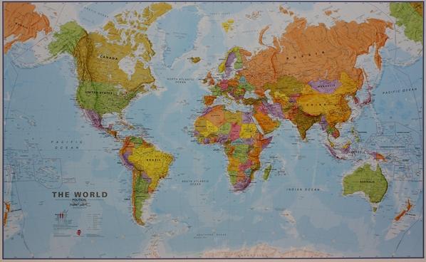 Craenen maps international flat maps world pol 20m pp gumiabroncs Images