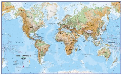 Craenen Maps International Flat Maps