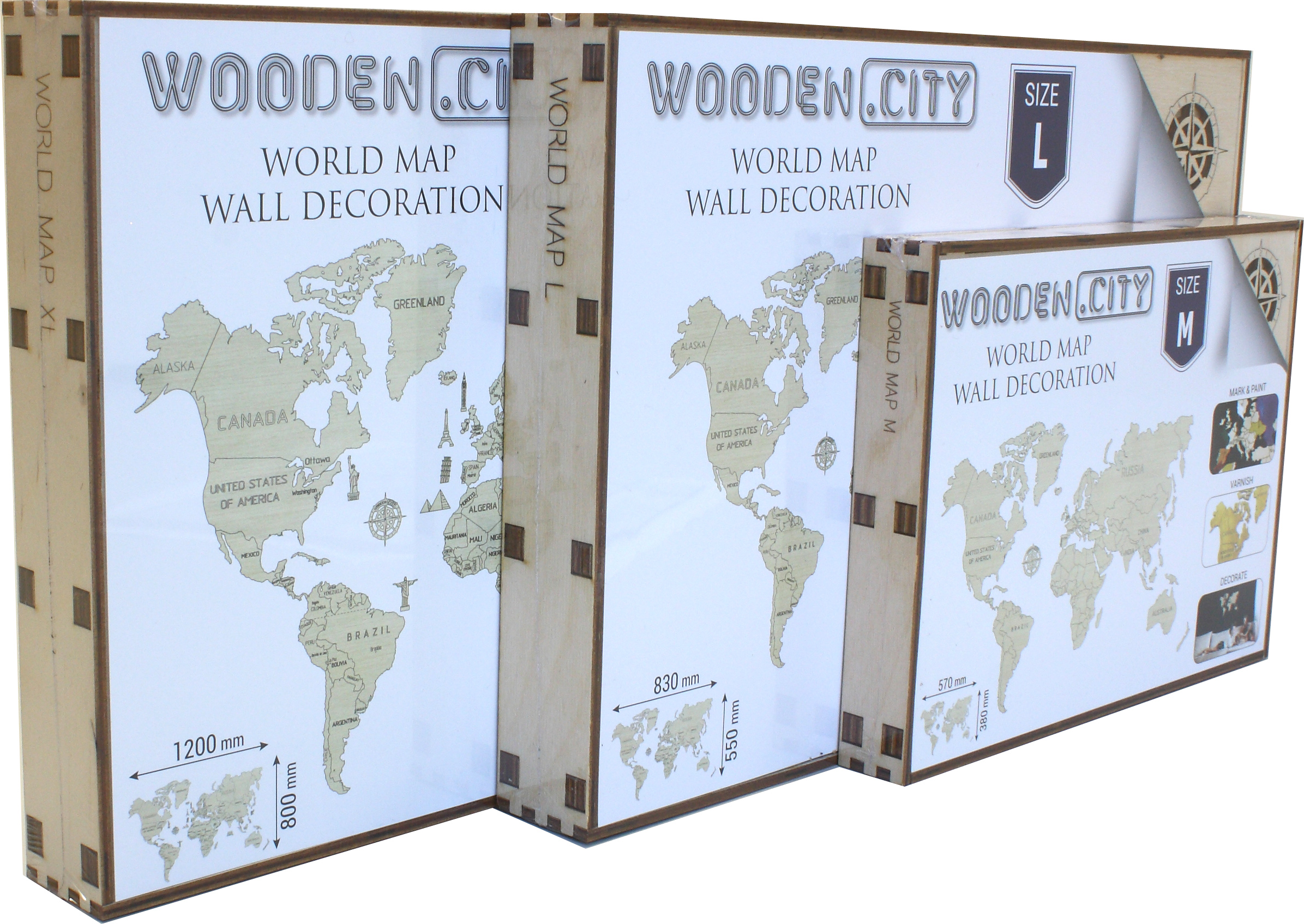 Craenen wooden city wooden world map gumiabroncs Image collections